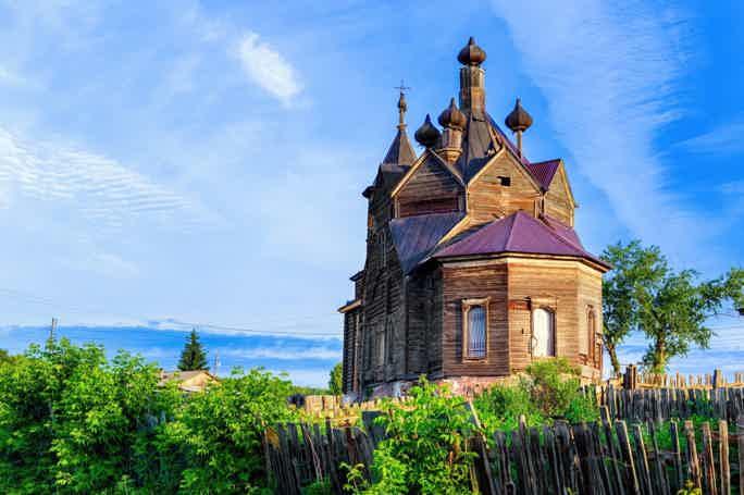 Сибирская глубинка: Частоостровское и Барабаново