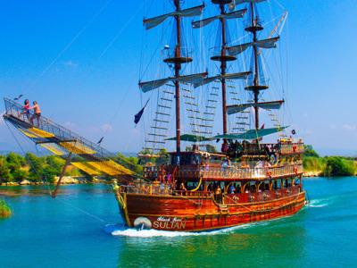 Яхт–тур по реке Манавгат из Белека