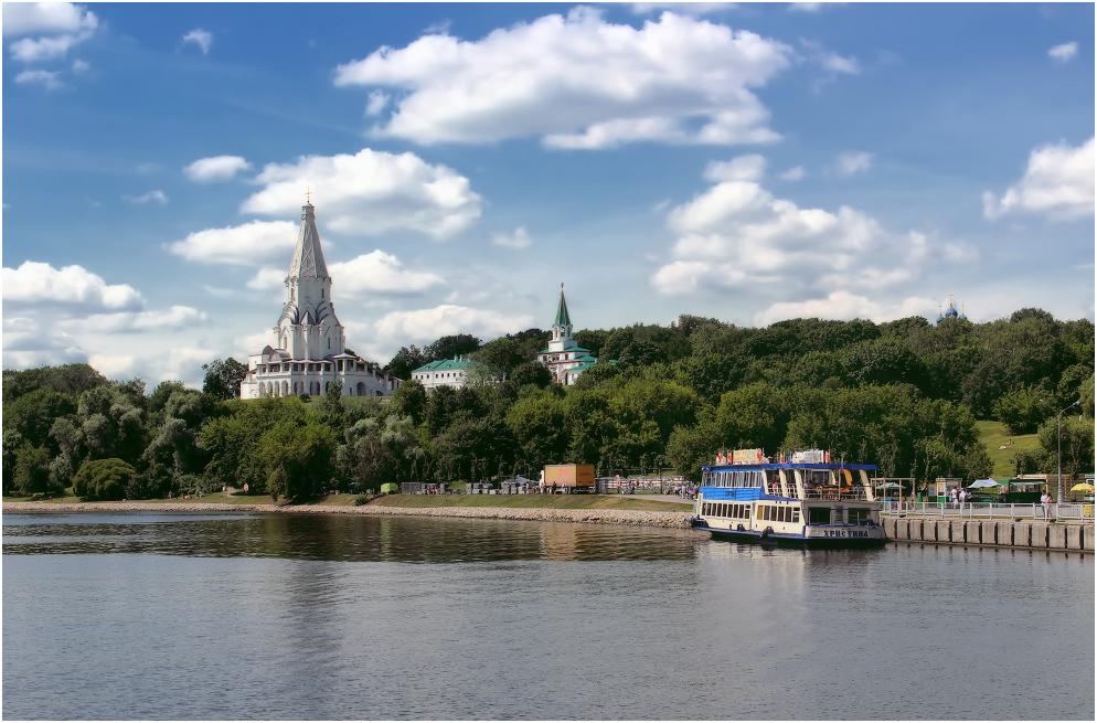 Фото причала Коломенское в Москве