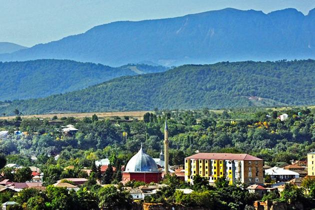 Губа, Кавказский Иерусалим и деревня Ханалыг