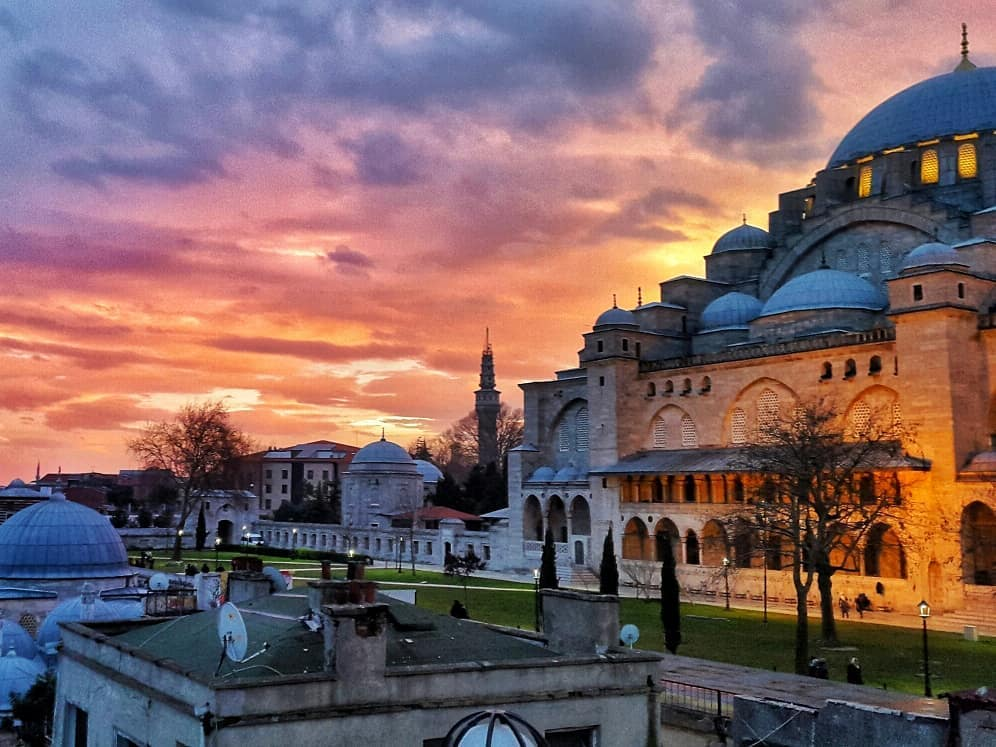 Онлайн-экскурсия «Стамбул. От Константинополя до Блистательной Порты»