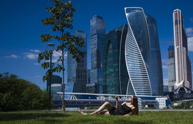 Москва сити фотосессия работа модели в америке
