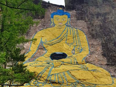 Экскурсия к 33-х метровому лику Будды