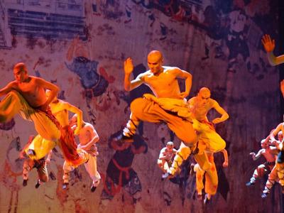 Шоу «Легенда Кунг-Фу» в Красном Театре