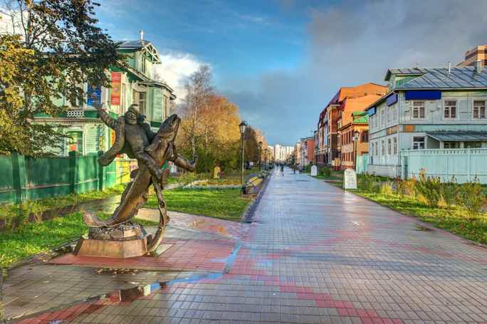 Экскурсия по проспекту Чумбарова-Лучинского в Архангельске