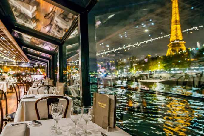 Вечерний круиз по Сене с ужином на борту