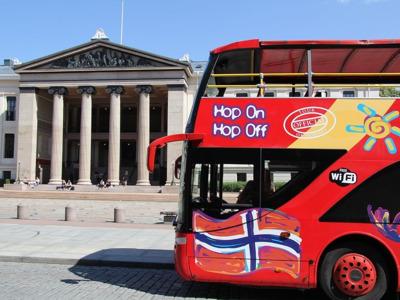Автобусный Hop-On Hop-Off тур по Осло
