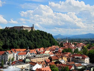 Любляна — столица Словении. Обзорная пешеходная экскурсия.