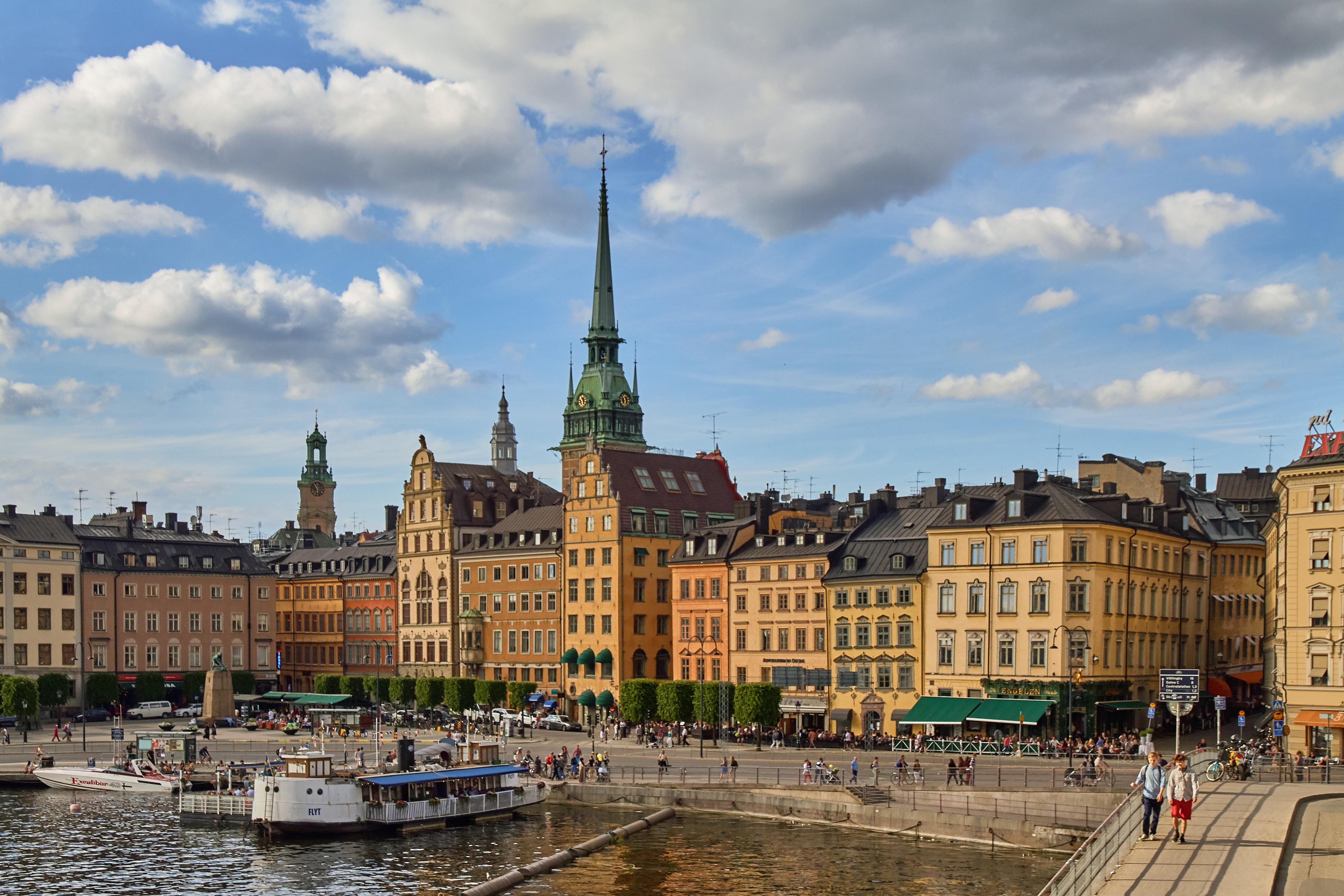 Онлайн-экскурсия: «Стокгольм — город, плывущий над водой»