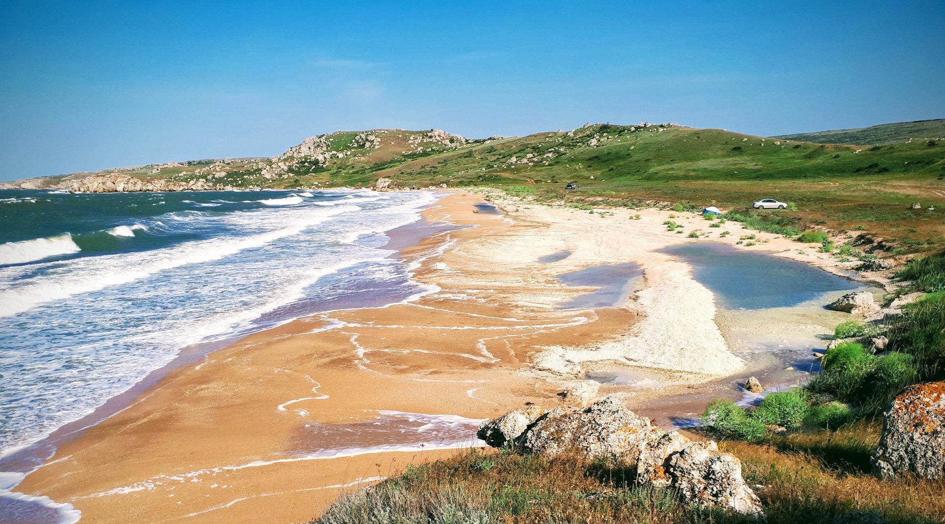 Фото генеральских пляжей в Керчи