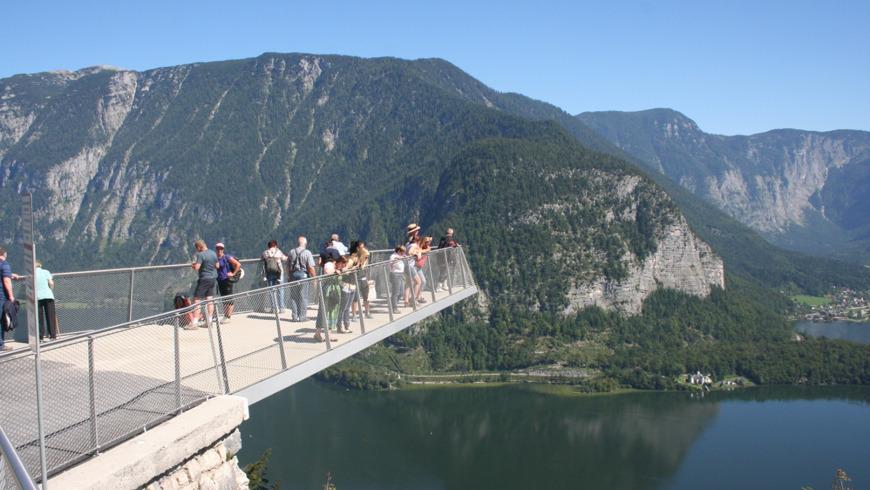 Сказочный Хальштатт и вершины Альп, вкл. подъёмник