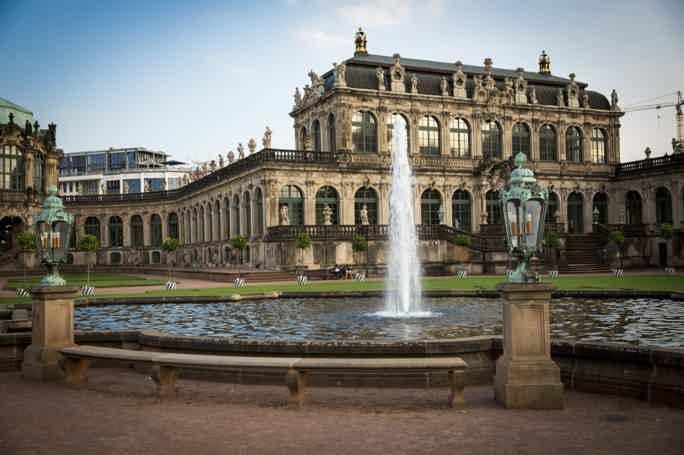 Пешеходная экскурсия по старому Дрездену