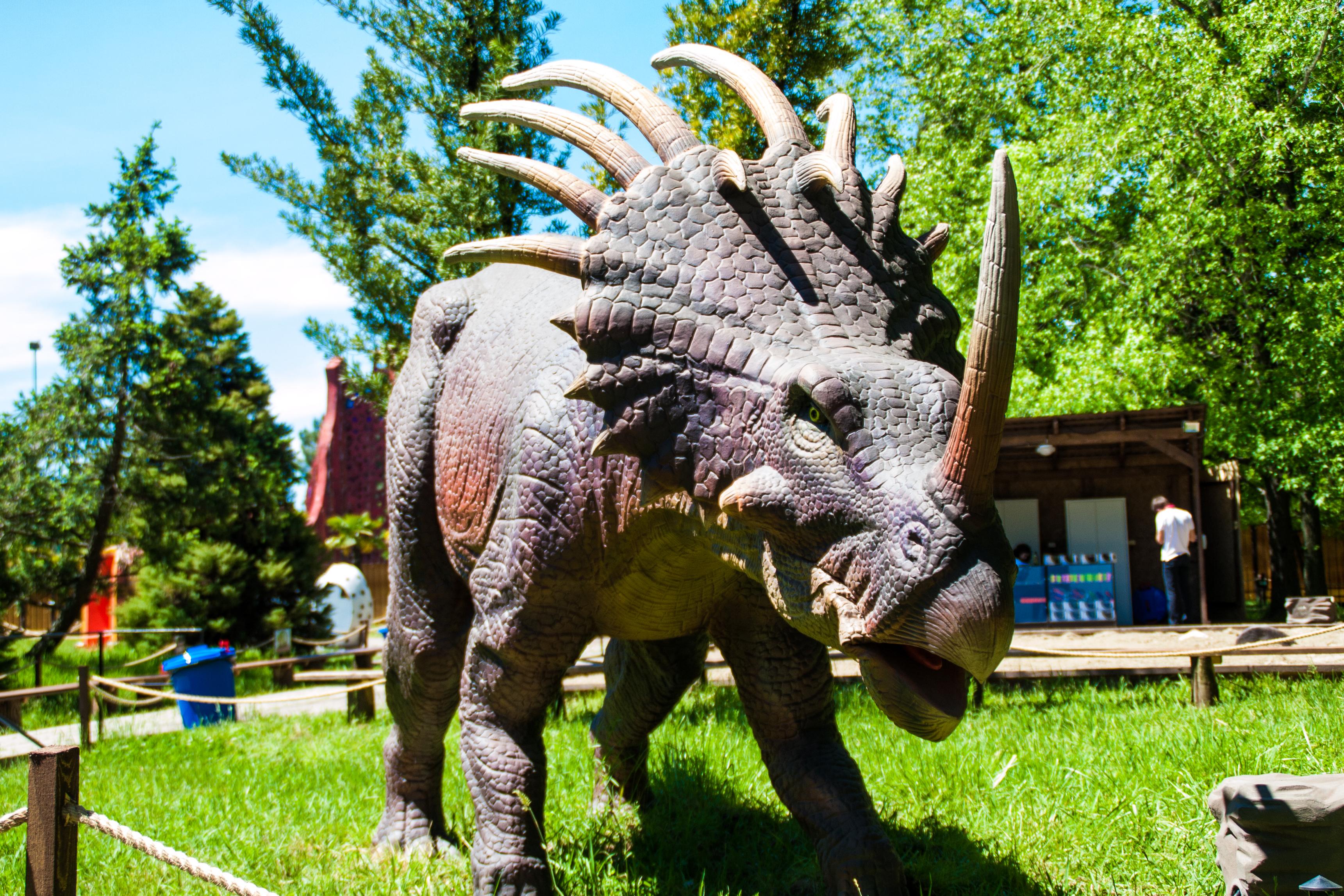 Парк динозавров Затерянный мир фото