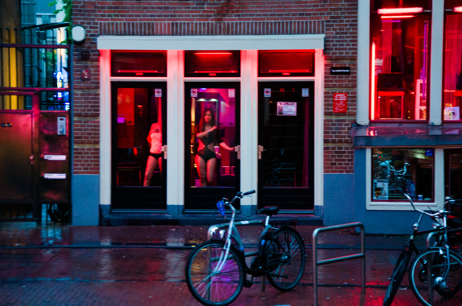 современное улица красных фонарей в амстердаме фото вуза берутся
