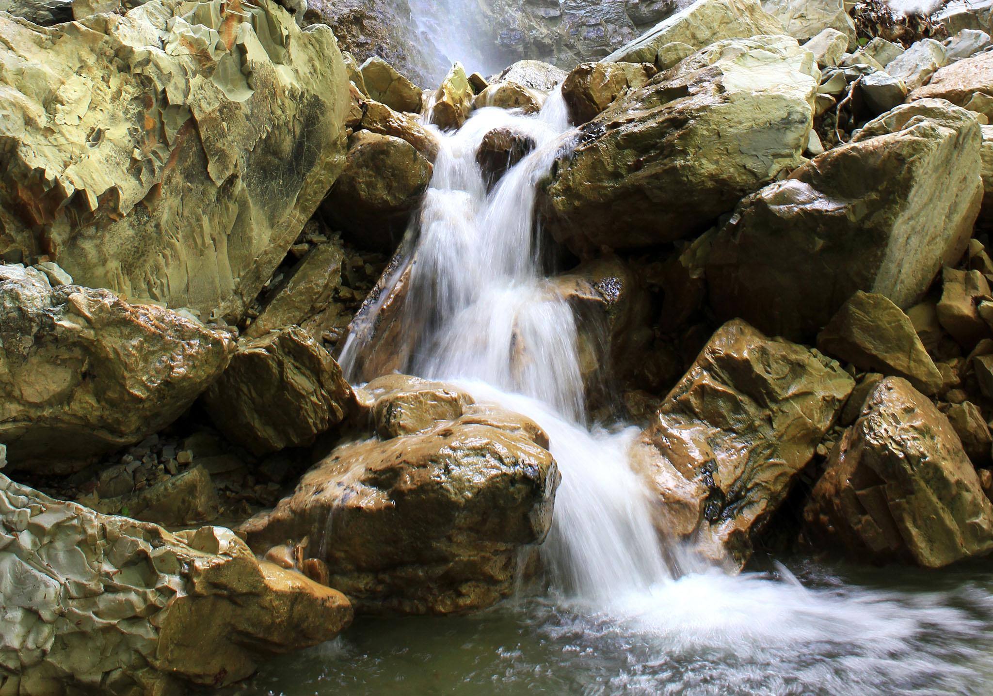 Фото Водопад Перун в Туапсе.