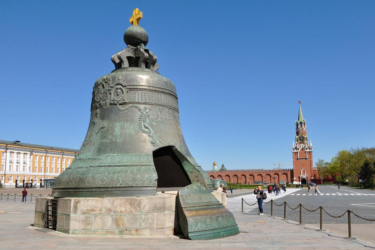 Фотография царь-колокола