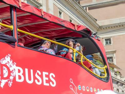 Обзорная экскурсия по Стокгольму Hop-On-Hop-Off на двухэтажном автобусе