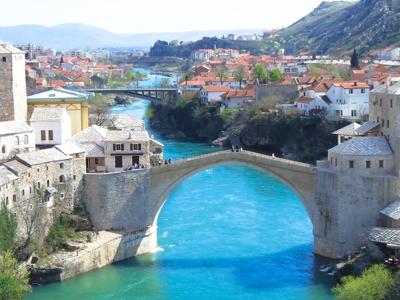 Из Дубровника в Мостар - Босния и Герцеговина