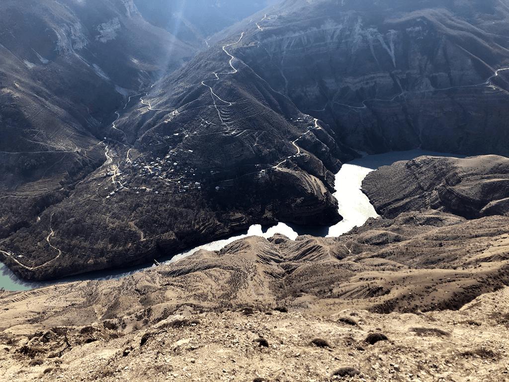 Фото с экскурсии на Сулакский каньон