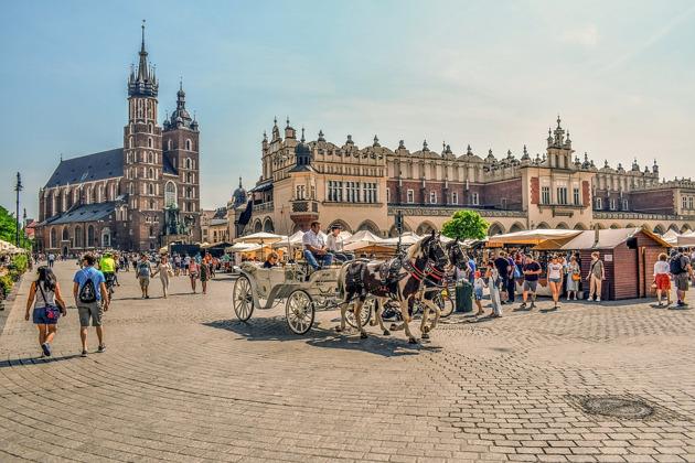 Экскурсия в Краков из Варшавы